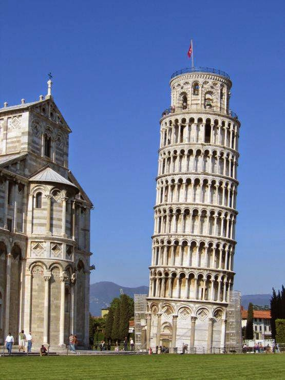 Leaning Tower of Pisa, Pisa, Italy Famous European Places, Most Famous Places in Europe