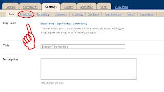 cara ganti URL Blog, URL Blog, Merubah URL Blog, Domain Blog, alamat blog, cara ganti http