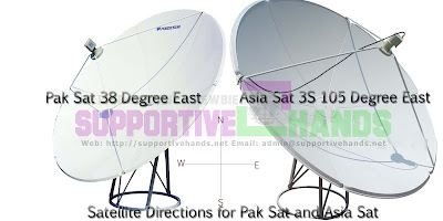 new satellite ptv sports pak sat asia sat direction