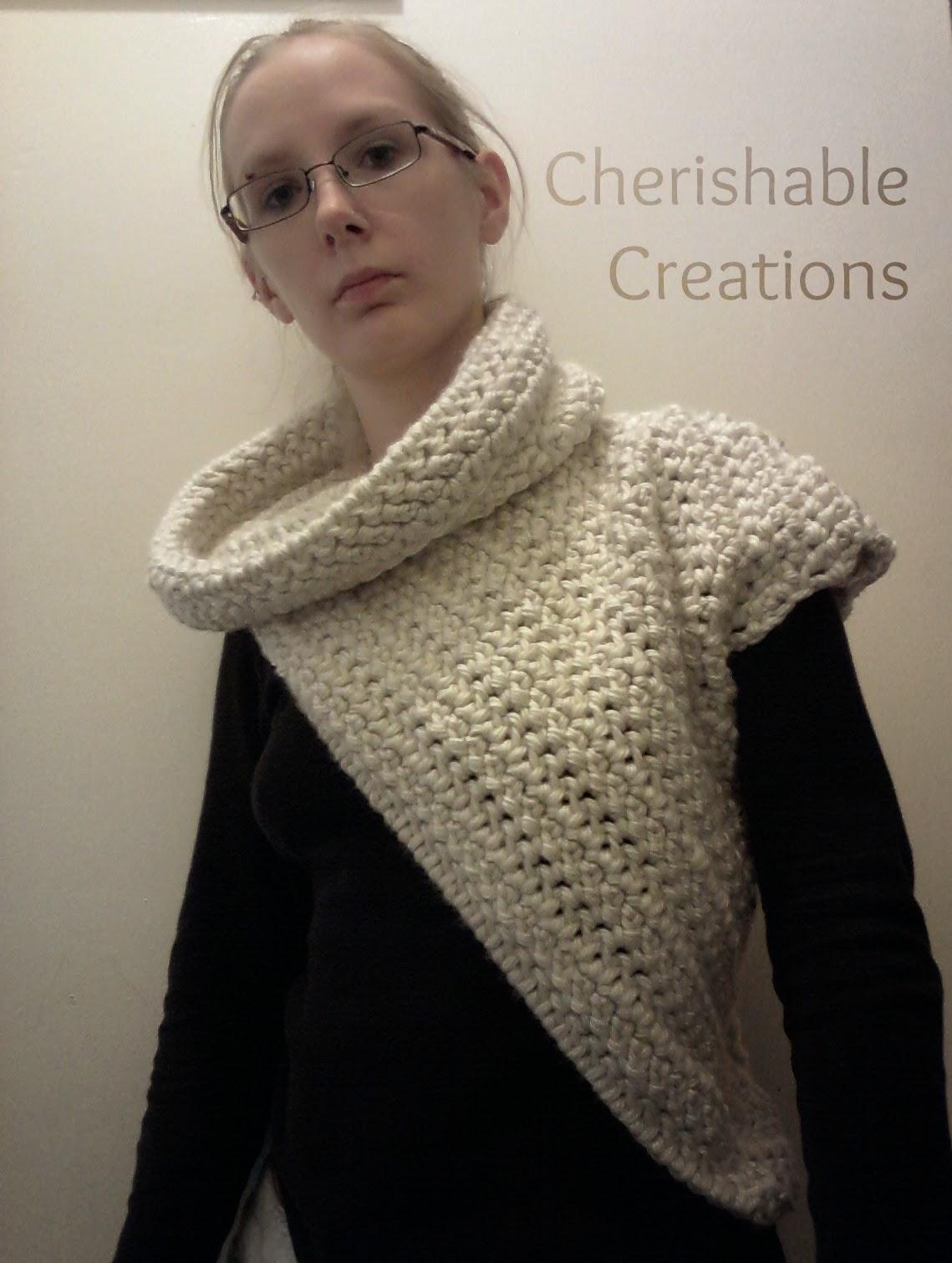 Crochet Pattern Katniss Cowl Traitoro For