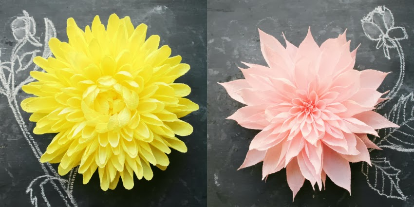 Crepe paper flower headpieces by featured artist tiffanie turner paper flower headpieces for fall hello there mightylinksfo