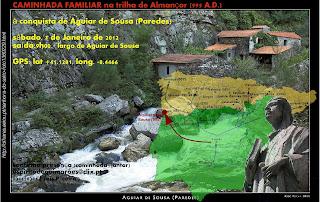 caminhada cultural em Aguiar de Sousa - Paredes