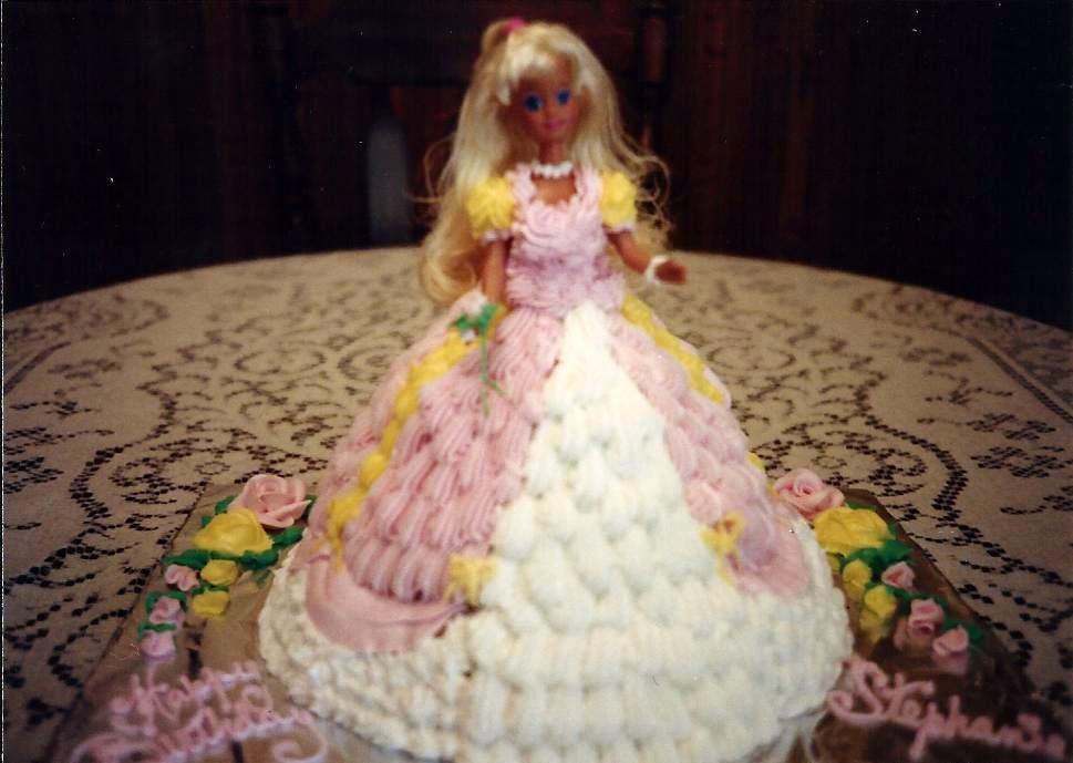 Just Thought Id Share Barbie Birthday Cake