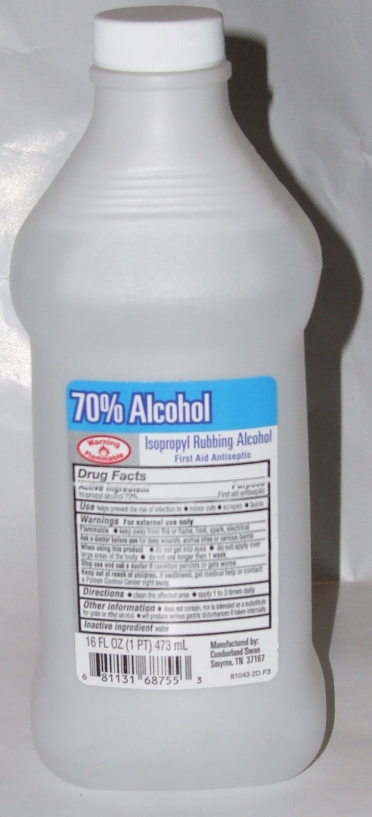 Ocdelightful Isopropyl Alcohol Rubbing Alcohol As A