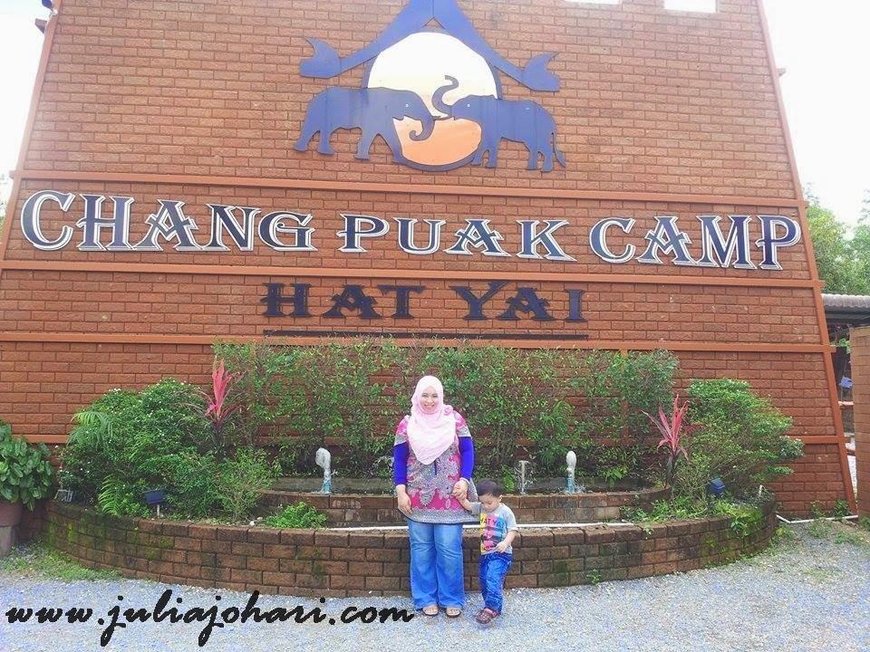 Chang Puak Camp Hatyai Sesi Beramah Mesra Dengan Gajah Part 7