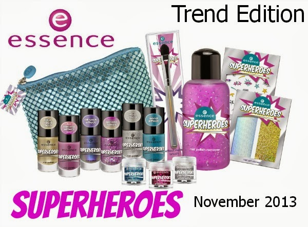 essence Superheroes Trend Edition - Preview November 2013