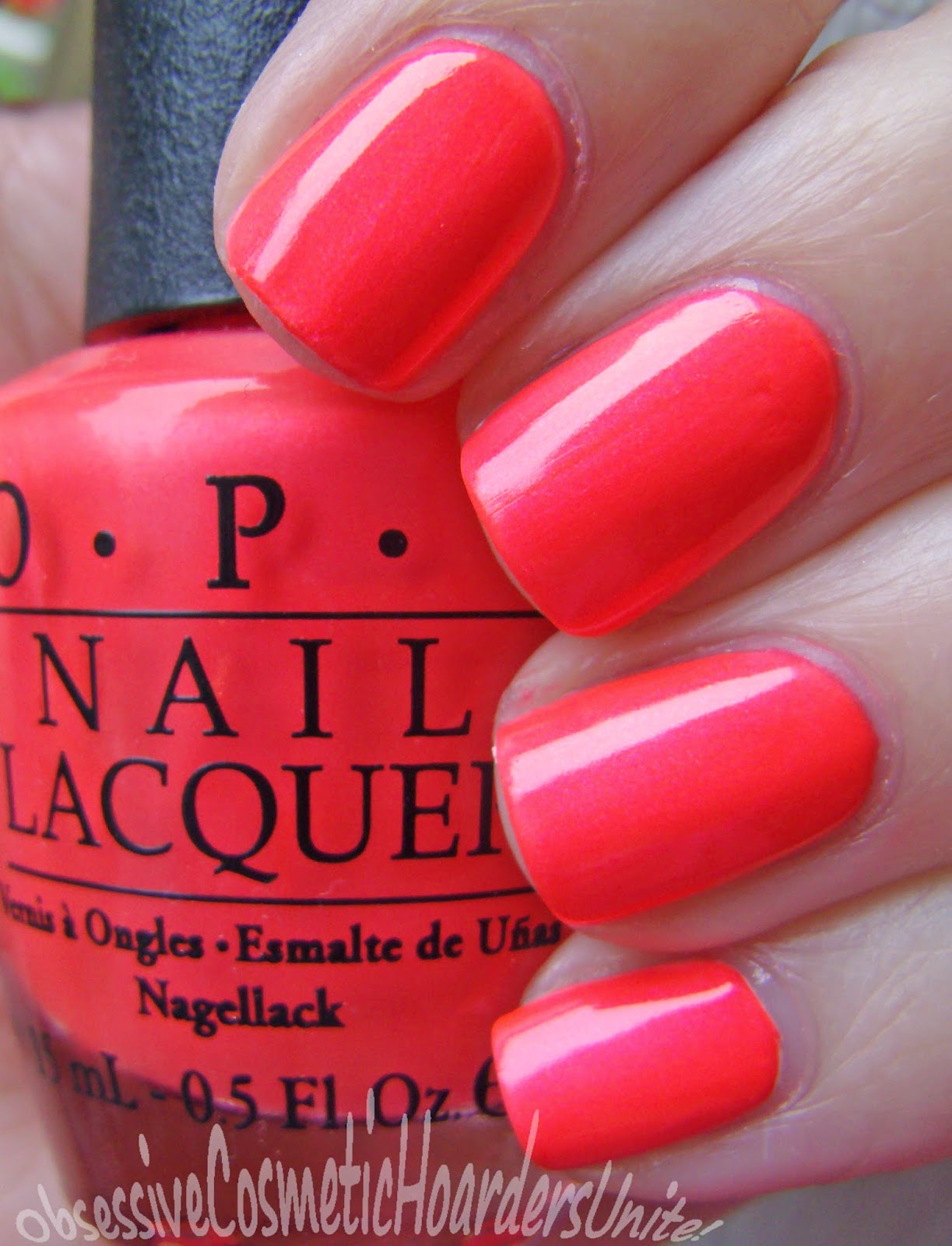 Obsessive Cosmetic Hoarders Unite!: NEW! OPI Neons For Summer (Nail ...