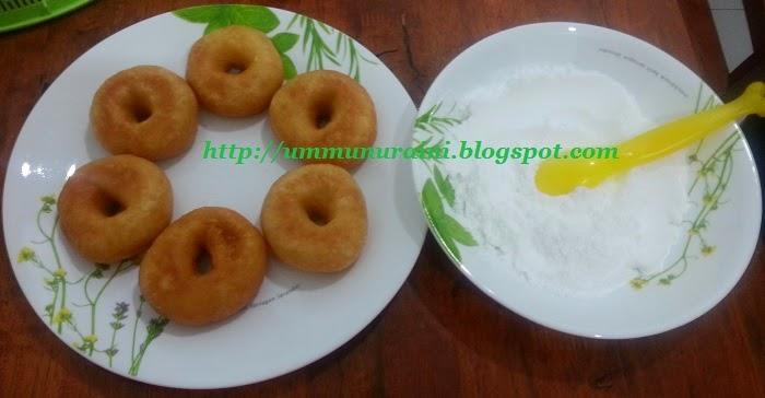 resepi donut