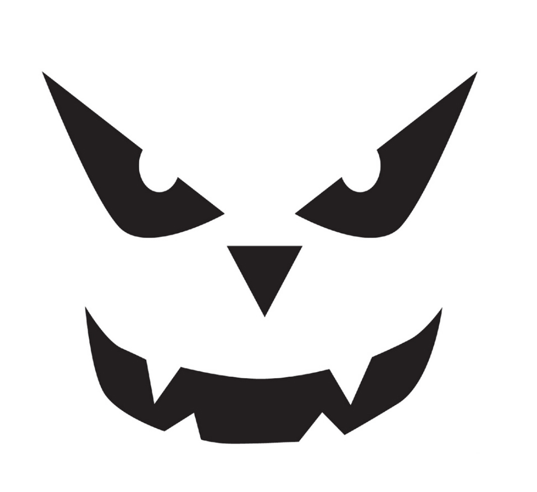 It's just an image of Gorgeous Jack O Lantern Stencil Printable