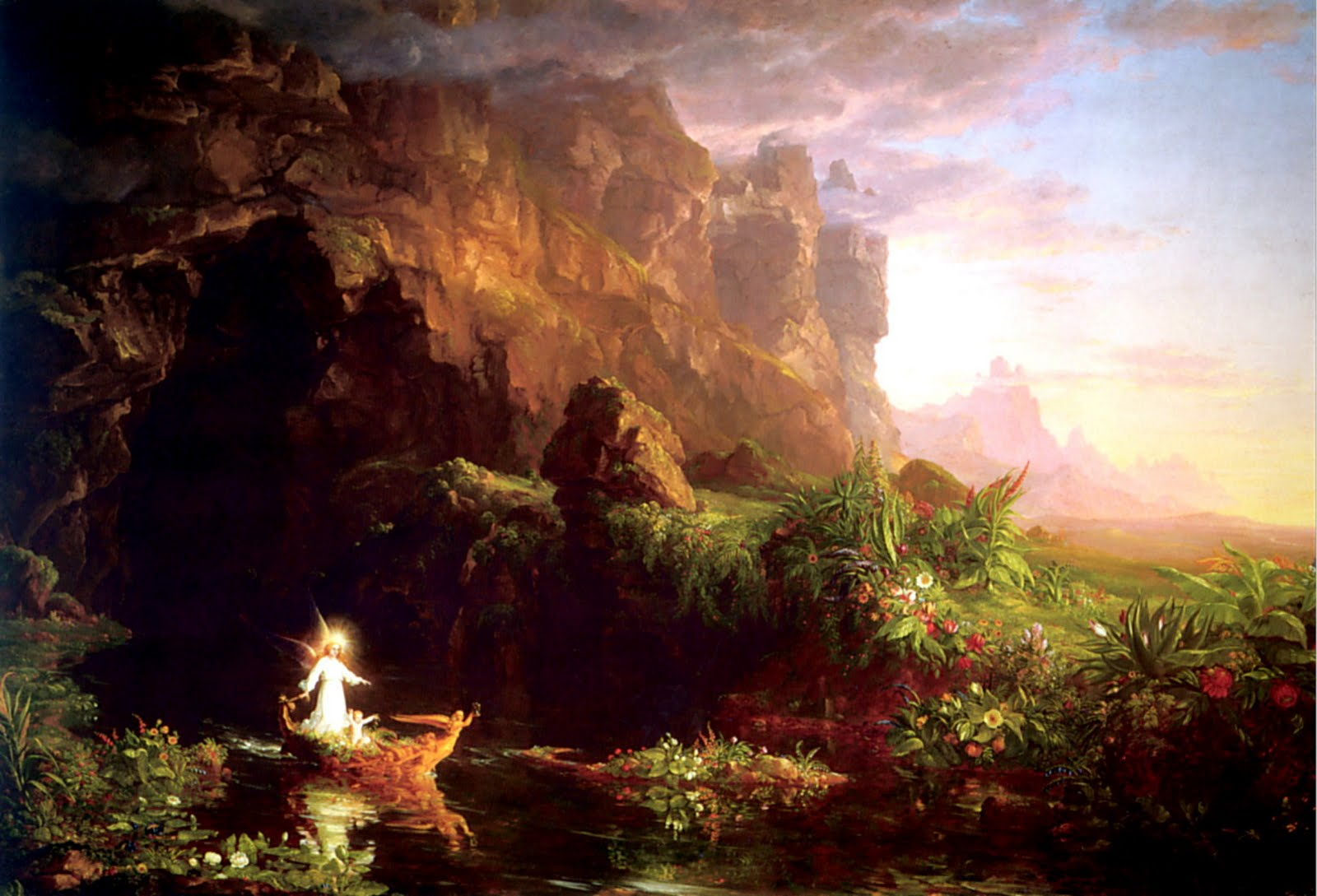 Thomas Cole The Voyage of Life imageanchor=