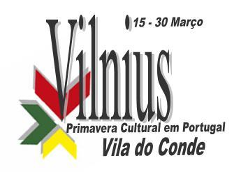 Vilnius - Primavera Cultural em Portugal