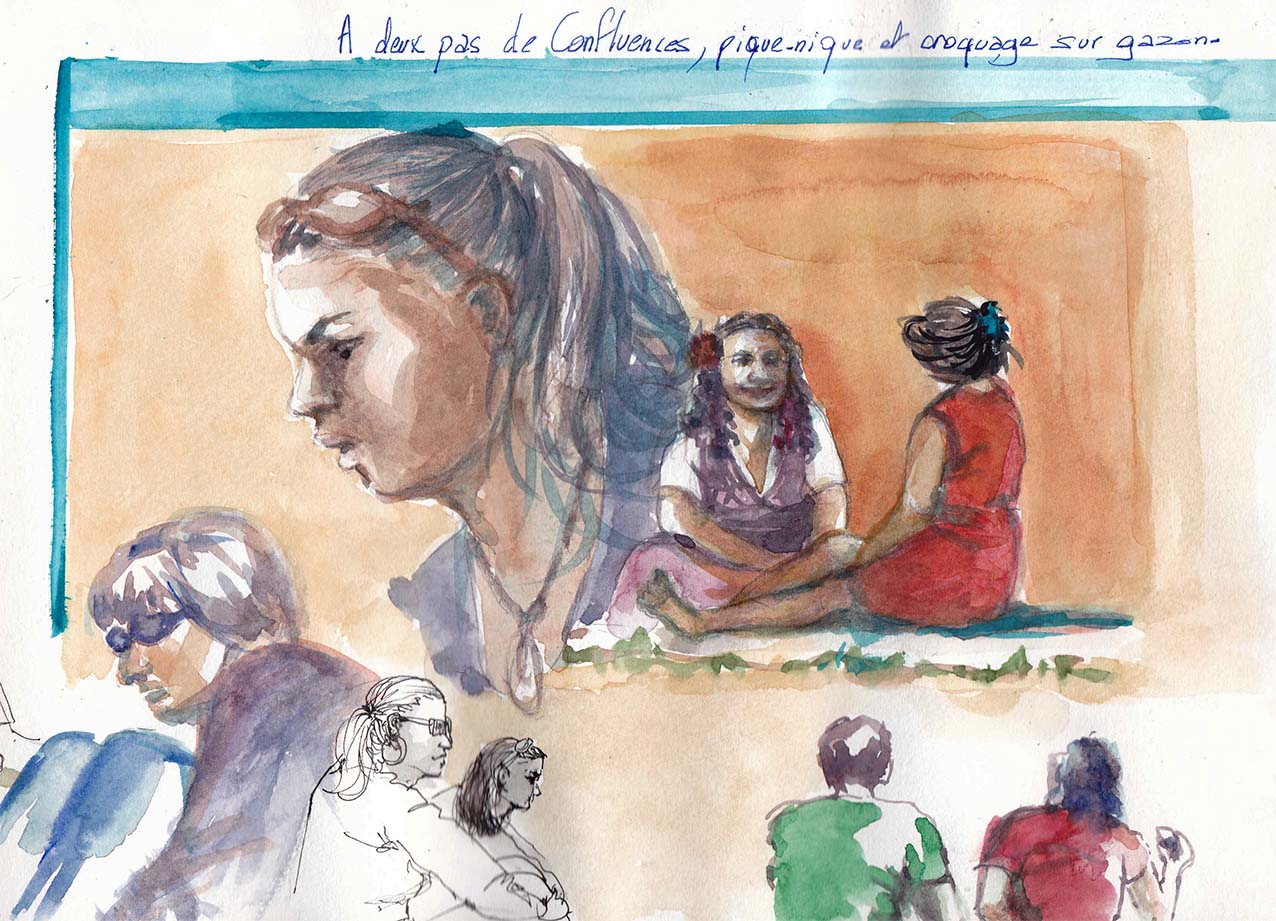 Portrait avec N Doucedame