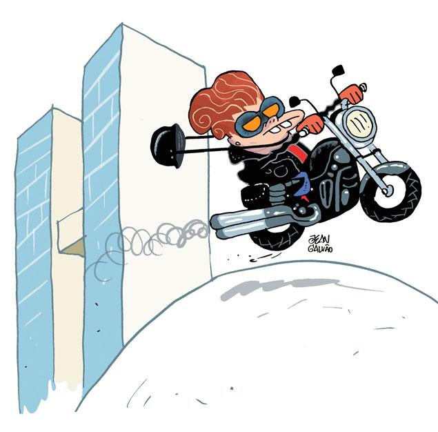Resultado de imagem para imagem,desenho, mulher com motocicleta furtada