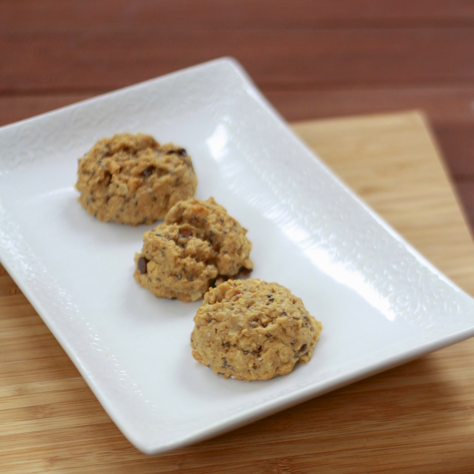 Peanut Butter Oatmeal Cookies with Chia Seeds