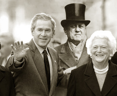 BARBARA BUSH Y ALEISTER CROWLEY Crowleybush