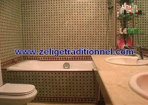 salle de bain marocain sal de bain avec de zellige - Zellige Marocain Salle De Bain