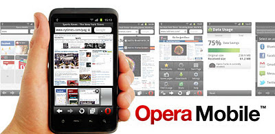 Opera Mobile web browser 11.5.3 Apk for Android