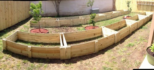 This Was A Huge Project! Each Raised Garden ...