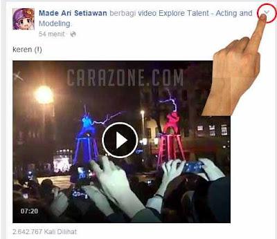 Cara Save video di facebook via HP dan PC