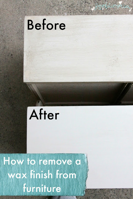 How to Remove a Wax Finish from Furniture