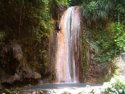 Diamond Waterfall Saint Lucia mineral baths