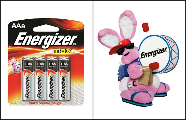 Energizer batteries and bunny