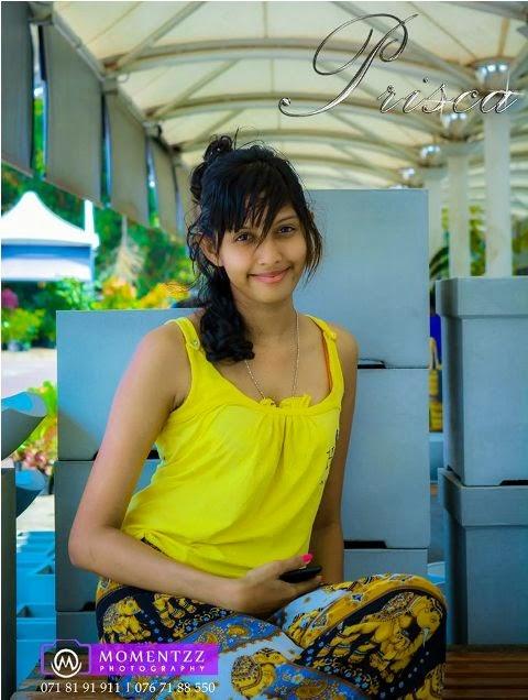 Prisca Nirmalee Cute yellow Dress