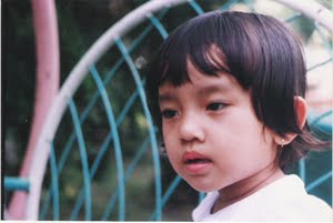 when i was a child lol