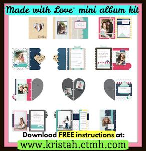 Made With Love - mini album workshop kit