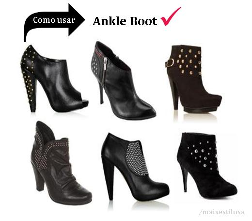 como   usar botas