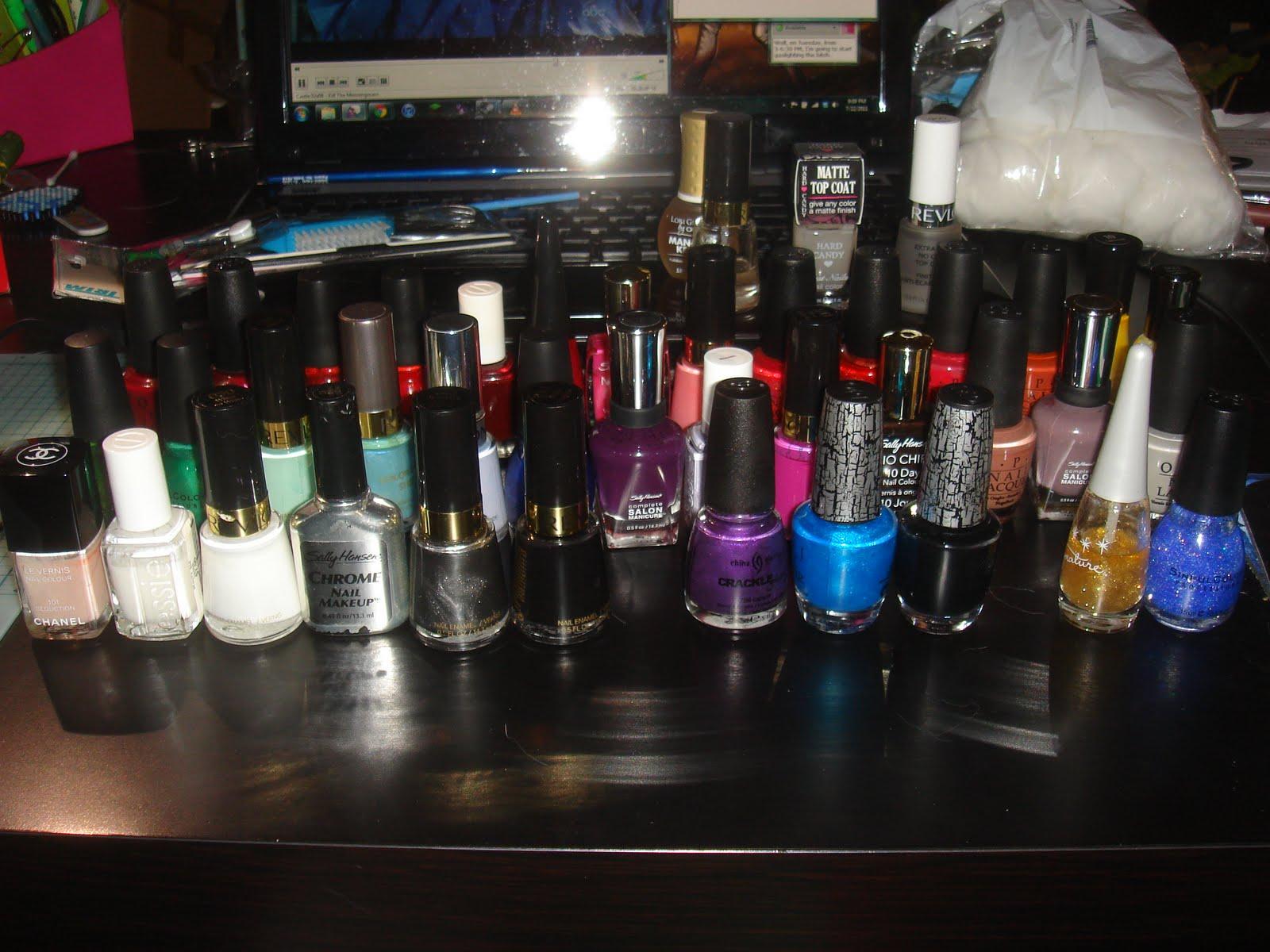 Rachael Ariella: The Nail File: Polish OCD