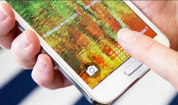 Samsung: lectores de huella dactilar en todos sus Smartphones