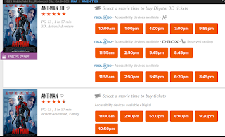 3D screenings out-number 2D options