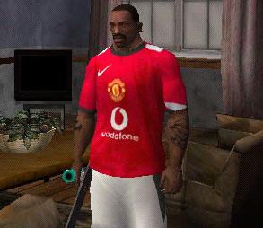 Skin Camisa do Manchester United para GTA San Andreas