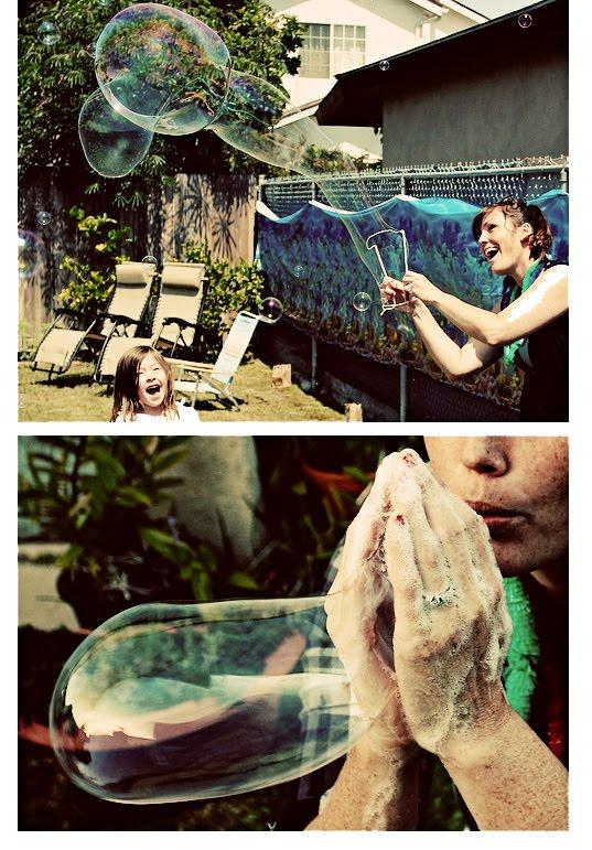 how to make massive bubbles