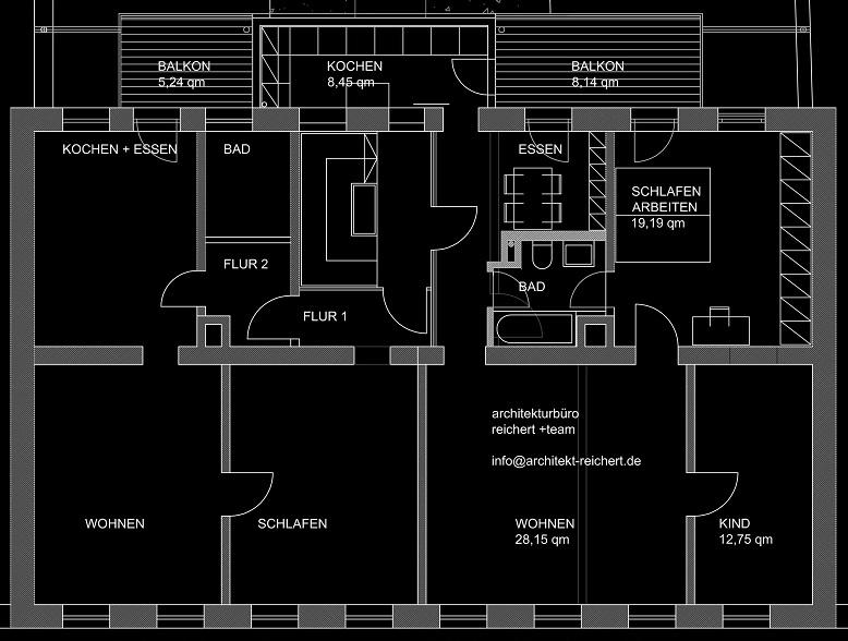 Grundriss - Vordergebäude (05-2012)