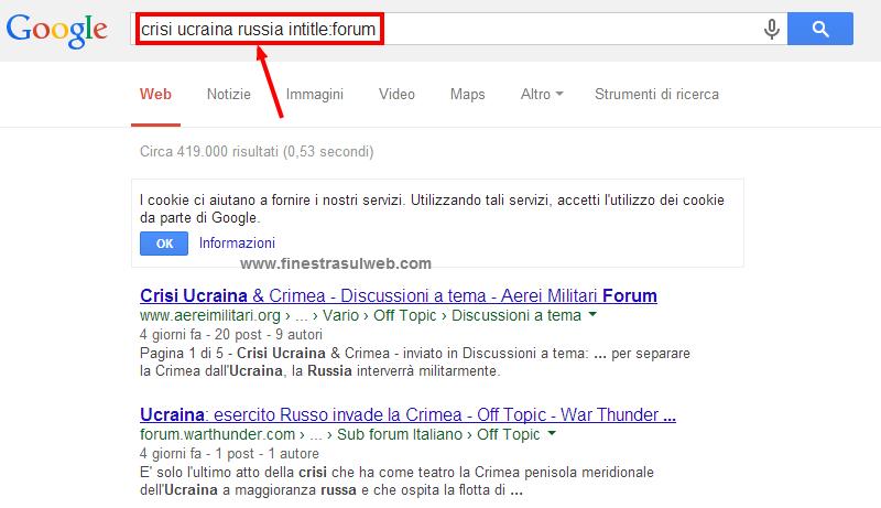 google-parametri-ricerca