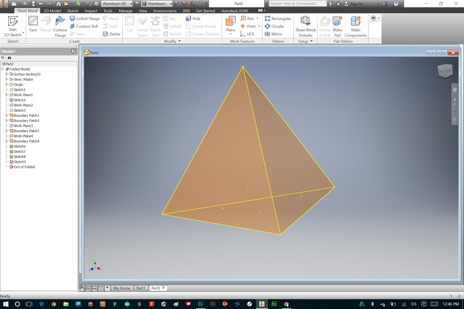 Bryan Cera Autodesk Inventor Sheet Metal Made Relatively Simple