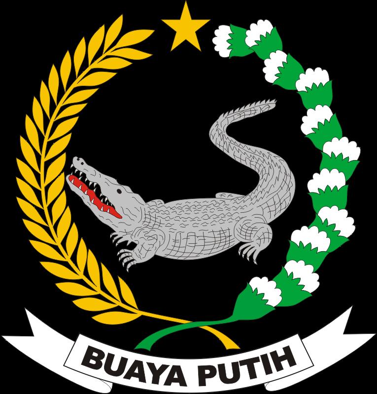 Logo Yonif 323 Buaya Putih Kumpulan Lambang Indonesia Gambar