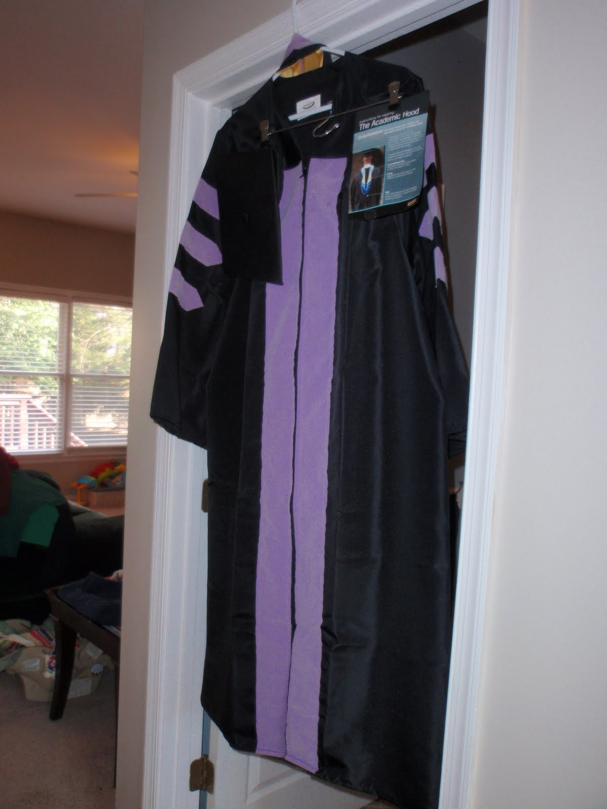 Three little Anardi\'s: the official cap and gown
