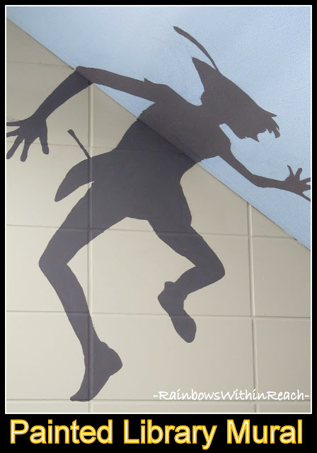photo of: Peter Pan Mural from Public Library