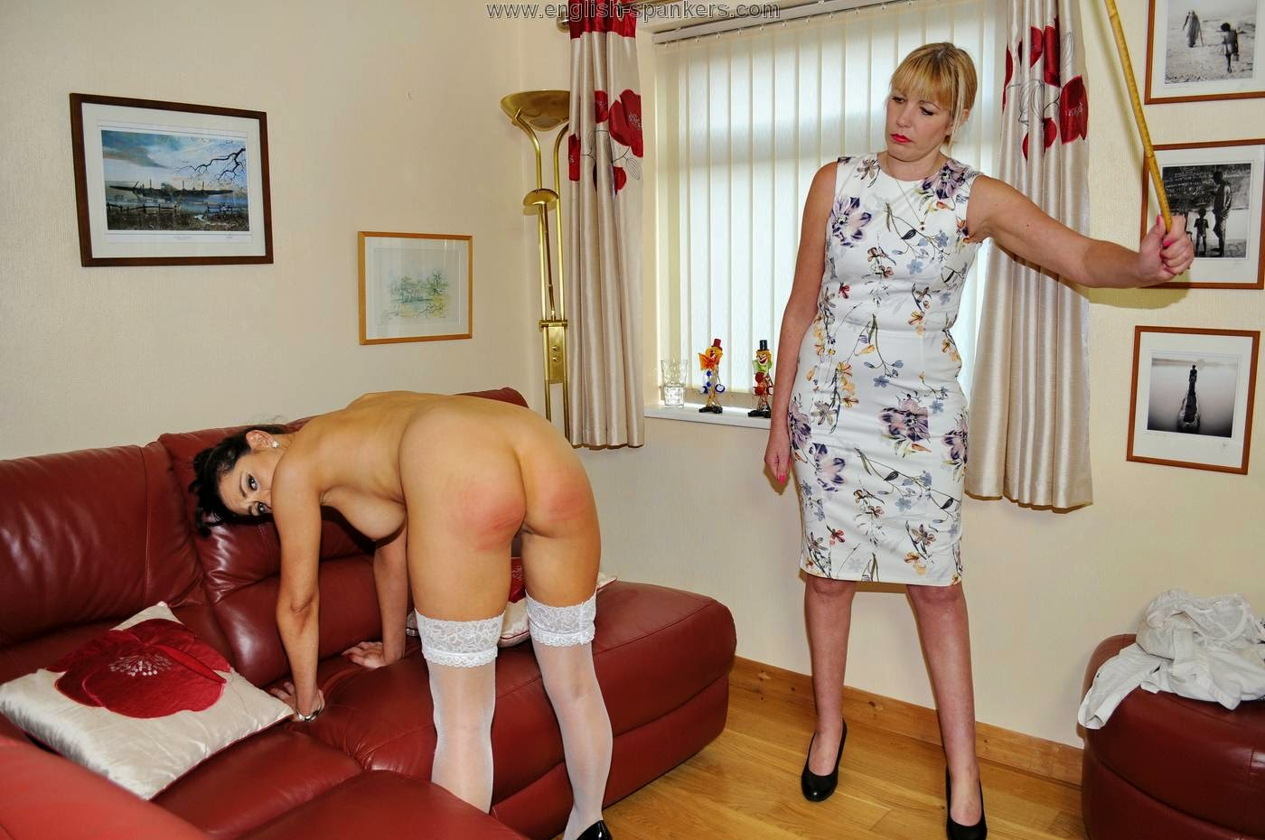Wonderful fuck English caning porn feast for