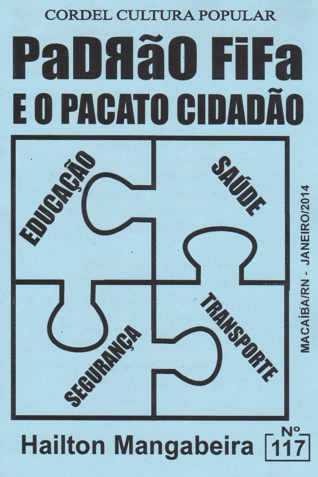 Cordel: Padrão FiFa. Nº 117. Janeiro/2014