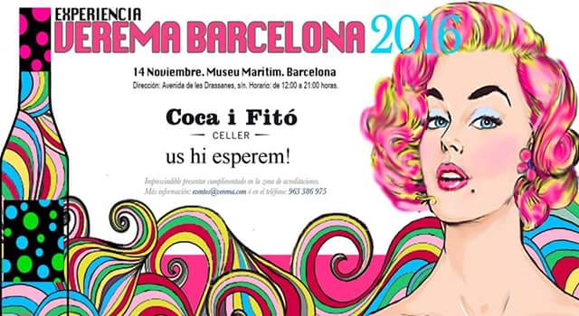 Experiencia verema Barcelona 2016