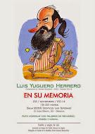 Acto en memoria de Luis Yuguero