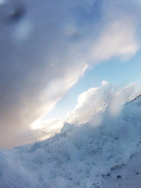 Wave at Carmel Beach