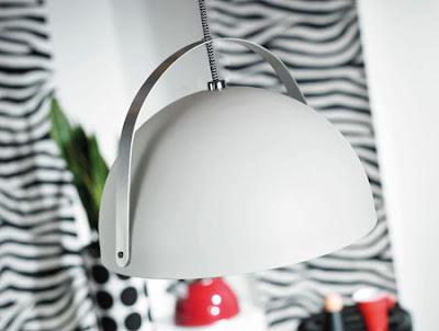 The White Helmet NX121 Pendant - Ginger 30 White Designer Range 72453001 Lamp