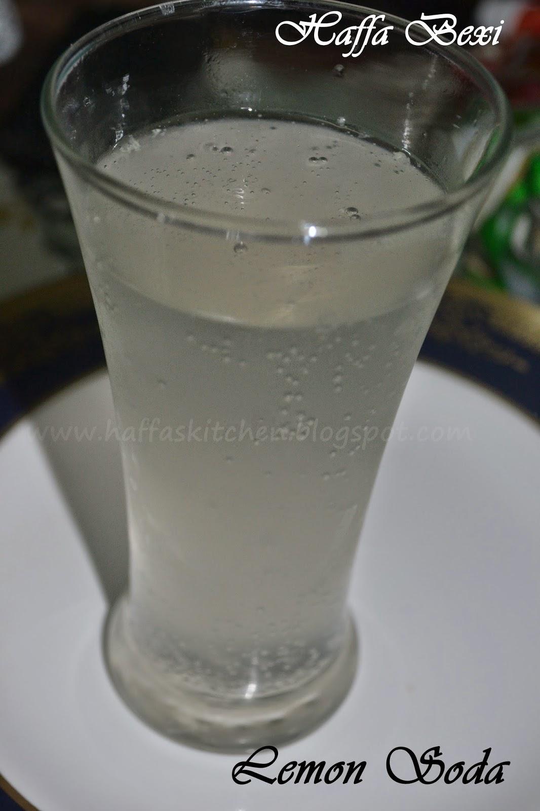 lemon soda - thaa soda