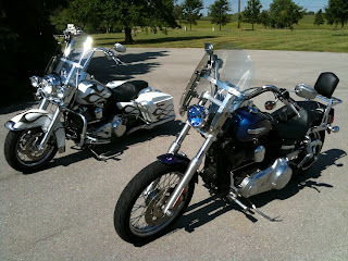 Road King and Super Glide Custom Brothers
