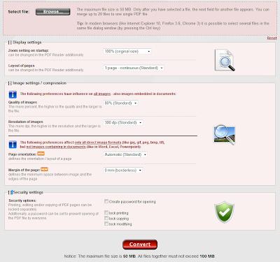 5 PDF Converter Online Tools - online2pdf